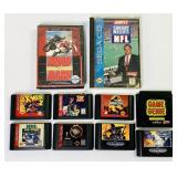 (9) Sega Genesis Games plus Game Genie