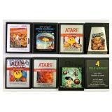 (8) Games for Atari 2600