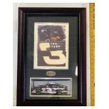 Dale Earnhardt sr shadow Box with Car