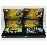 (2) Elite NASCAR Cars