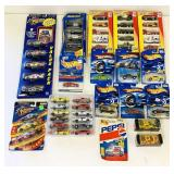Lot of NEW Cars, Hot wheels, NASCAR, etc