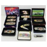 Earnhardt sr NASCAR Collector Knives