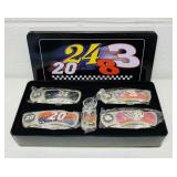 4 NASCAR Collector Knives, all new