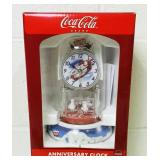 Coca Cola Anniversary Clock, NEW