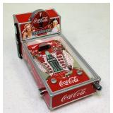 Coca Cola Pinball Bank, Heavy and nice, works