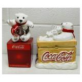 Coca Cola Watch and Jewelry Box