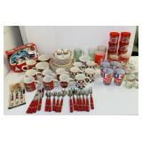 Lot of Coca Cola Dishes and Silverware
