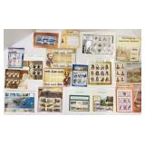 All new sheets of stamps