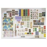 Lot of new stamps, $90.17 value