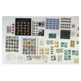 Lot of stamps, $61.40 value