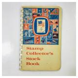 Stamp collectors book full of stamps
