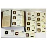 Golden Replicas of US Stamps Book plus extras