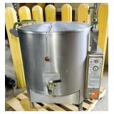 Vulcan 60 Gallon Nat Gas Steam Kettle 135,000 btu