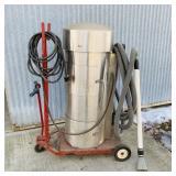 Industrial Vacuum System on Cart