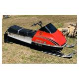 1976 Scorpion 400 Range Whip Snowmobile