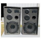 Pair of Acoustic Design Series 1201 Speakers