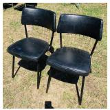 Matching Metal/padded Chairs
