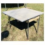 """Daystrom Table w/ pullout sides, 40"""" x 25""""."""