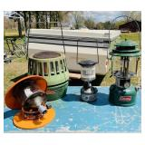 3 Lanterns/ Coleman Catalytic Heater