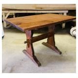"Pine Pub Table, 44"" x 30"" x 29"" h, 1.5"" thick top"