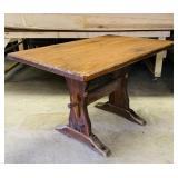 Pine Pub Table, Matches Lot #76