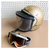 Vintage Yamaha by Bell Helmet / Shield