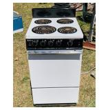 Magic Chef Electric Apartment size Stove,220v,