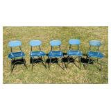 5 high School/Adult size Chairs