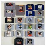 20 Nintendo Games plus Game Shark