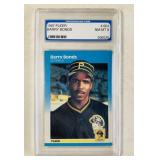 1987 Barry Bonds #604 Graded Baseball Card