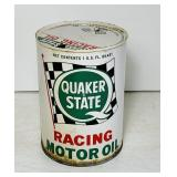 Quaker State Racing Motor Oil Can, 1 Quart