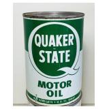 Quaker State FULL 1qt  Oil Can
