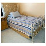 Twin Size Bed w/ Caress Mattress, matches lot 71