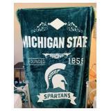 Michigan State Spartans Fleece Blanket