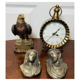 Lot of Decorations, clock works