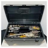 Plano Toolbox with Mostly Craftsman Tools,