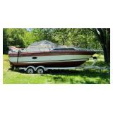 1991 Regal Ambassador 255XL Boat and 1997 Trailer
