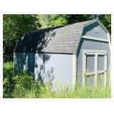 Very Nice Shed, Like New, On Galvanized Frame