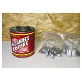Can Full of Lead Weights/Sinkers