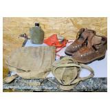 NOS Tirah USA Made Hiking Boots size 9