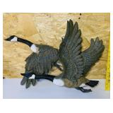 2 Flying Geese Wall Decor, heavy Resin Material.