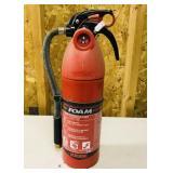 Foam fire extinguisher, full Charge