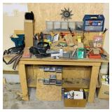 Work Bench w/ contents