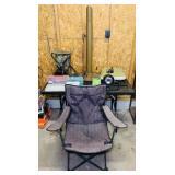 Lot of outdoor stuff, Portable Adjustable Stool,