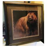 """Bear Picture  27 """" x 27"""""""