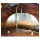 Brass Log holder