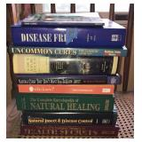 Lot of natural/homeopathic books