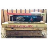 Seed, edible plants and backyard books