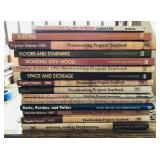 Various woodworking books