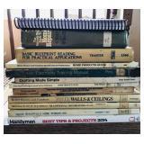 Various home repair books